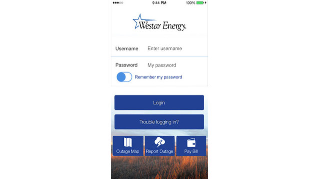 Westar Energy Mobile App Reporting Outages