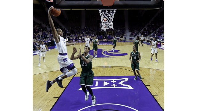 Barry Brown fuels Wildcats past Green Bay