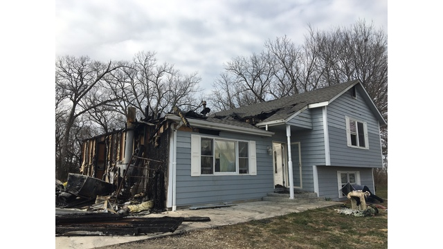 Fire heavily damages home in Osage County overnight