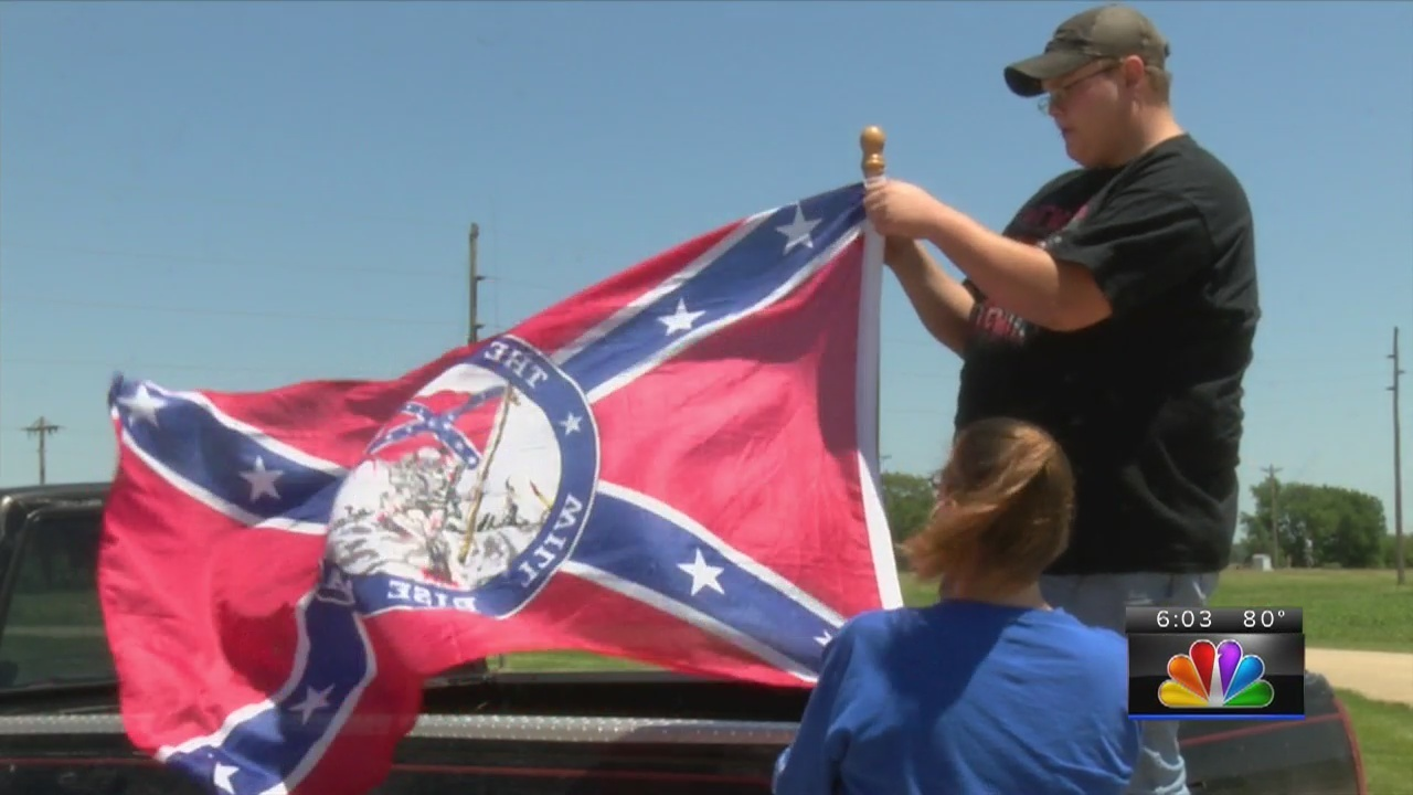 Confederate flag stirs controversy at Washburn Rural High School