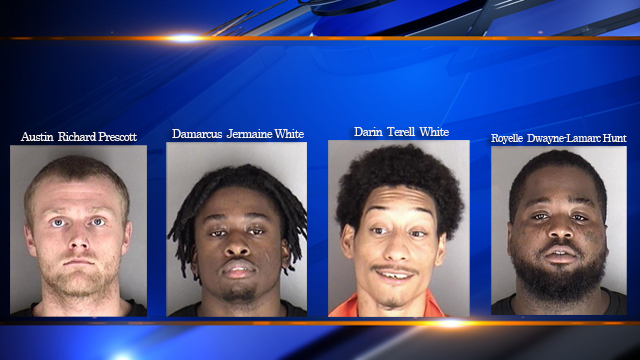 Four In Custody After Armed Robbery At Topeka Dillons Parking Lot