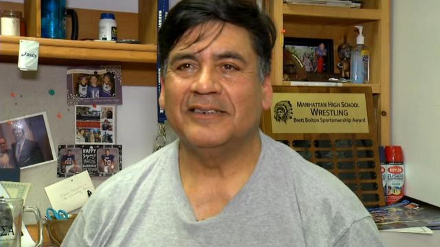 Manhattan wrestling's Robert Gonzales named National Coach of the Year