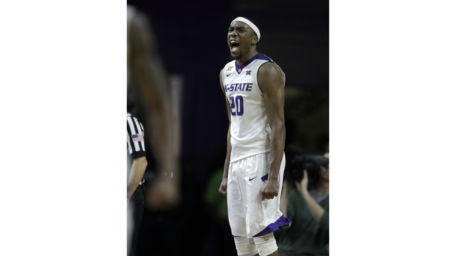 K-State's Sneed declares for the NBA draft