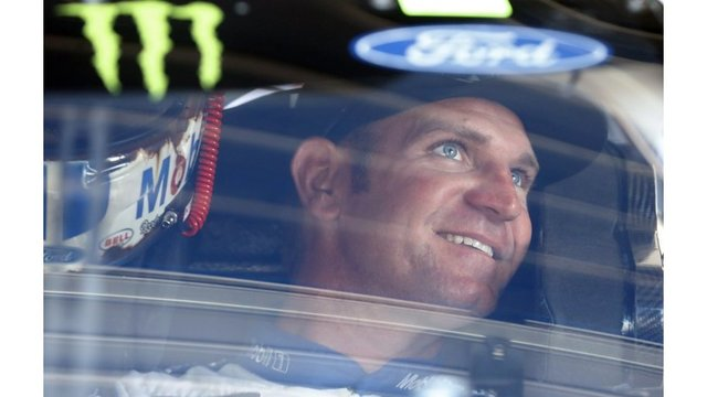 Kansas native Bowyer wins rain-shortened race at Michigan