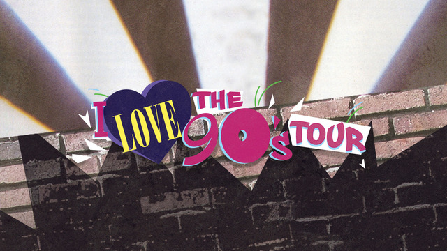 I Love the 90's Tour coming to the Kansas Expocentre this summer