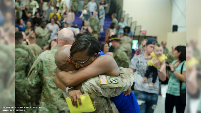 Fort Riley soldiers return from deployment
