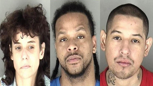 Narcotics investigation lead to 3 arrests in central Topeka