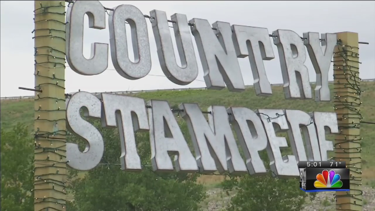 Flooding Conditions Cause Country Stampede To Move From