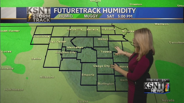 Meager rain chances wrap up, sunny for this weekend