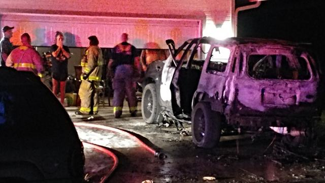 Car catches fire in Southeast Topeka early Saturday morning