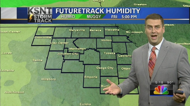 Dry start to August with unusually low humidity