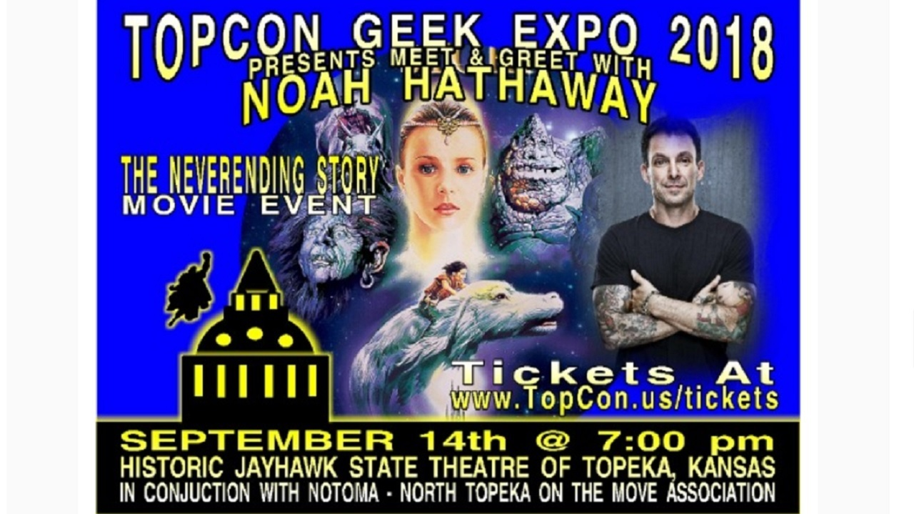 The Neverending Story Star Noah Hathaway Appears For Topeka Meet