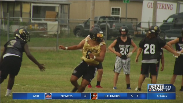 Topeka High Football Gets Ready to Elevate Their Game