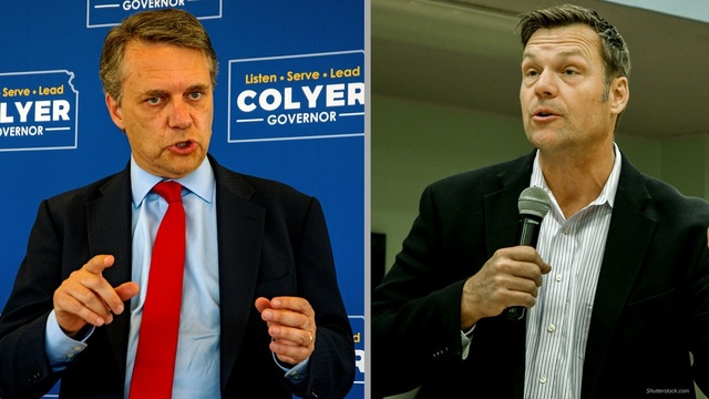 Colyer concedes to Kobach a week after Kansas GOP primary