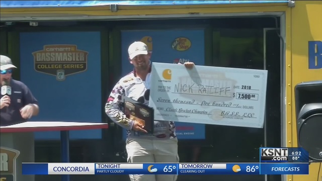 Bass fishing tournament brings national attention to Milford Lake