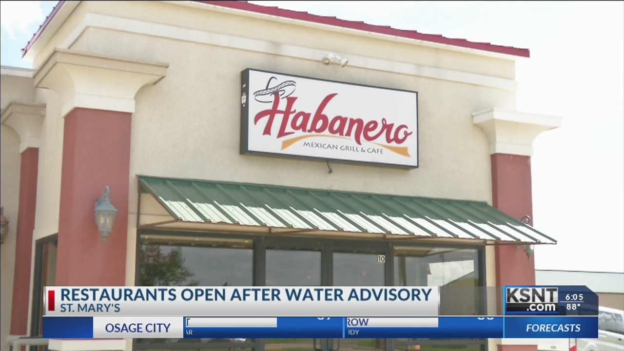 St Marys Restaurants Adapting After Water Advisory Leaves City With No For Days