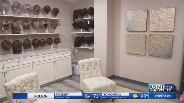 The Wig Room at the American Cancer Society gets a makeover
