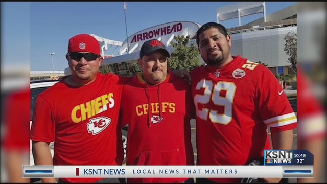 Family remembers loved one with Chiefs game watch party