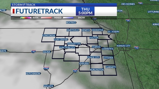 A few more clouds head our way by late Thursday