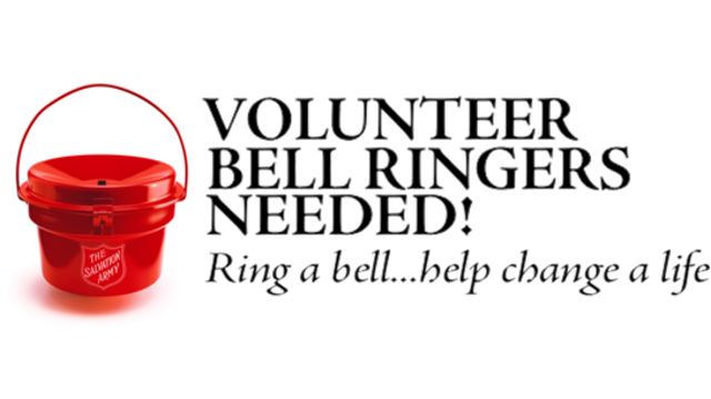 Salvation Army steps up bell ringer recruiting call