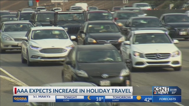 AAA predicts record number of holiday travelers