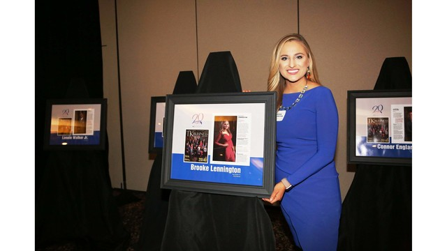 """KSNT Anchor Brooke Lennington honored as one of Topeka's """"20 under Forty"""""""