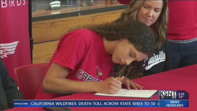 Tillman signs to play volleyball at Louisville