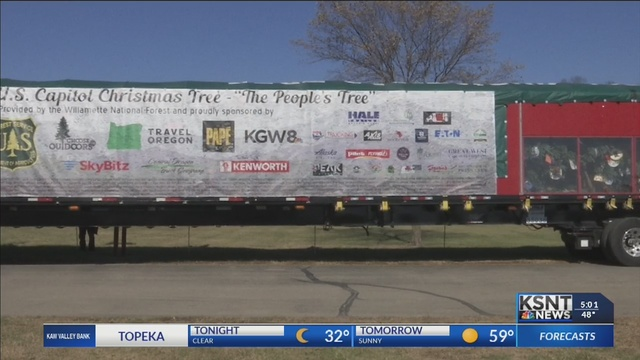 U.S. Capitol Christmas Tree stops in Perry