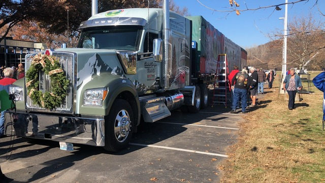 Capitol Christmas Tree makes stop in Perry