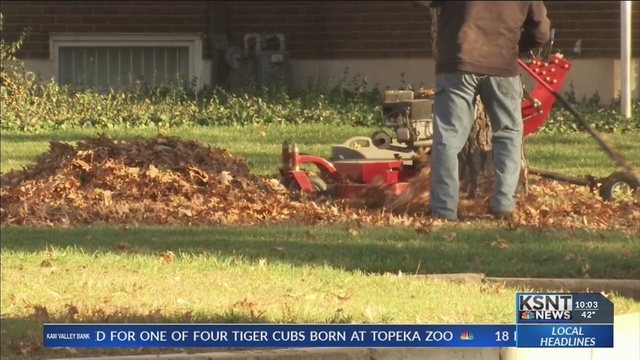 Topeka city officials are asking for your help to reduce leaf litter