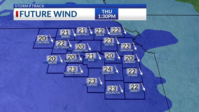 Mild for the middle of the week, strong wind & a mix on Thursday