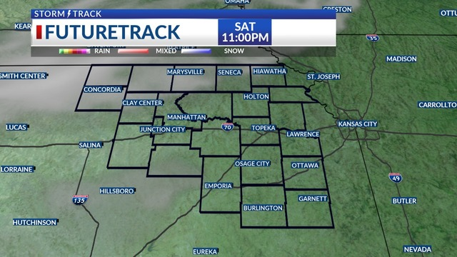 KSNT Storm Track Weather Update