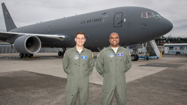 First KC-46 tanker to arrive at McConnell, Forbes will keep the 135s
