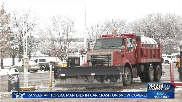 K-DOT crews preparing for winter storm, check conditions before you go