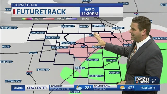 Fog tonight, winter storm looms for end of the week