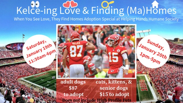 Helping Hands to hold another Chiefs adoption special