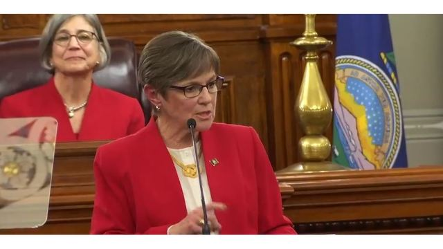 Key part of Kansas governor's budget plan in trouble