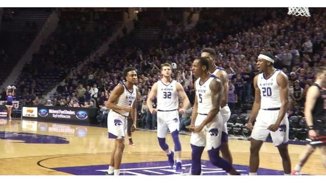 K-State tops #14 Texas Tech for fifth straight win