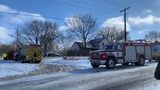Woman's house badly damaged in fire, one injured