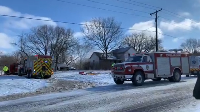 CRV Lady's house badly damaged in fire, one injured