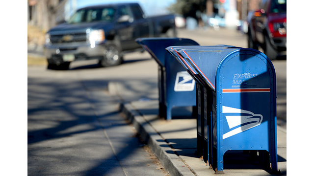U.S. Postal Service now says there will be mail service Wednesday