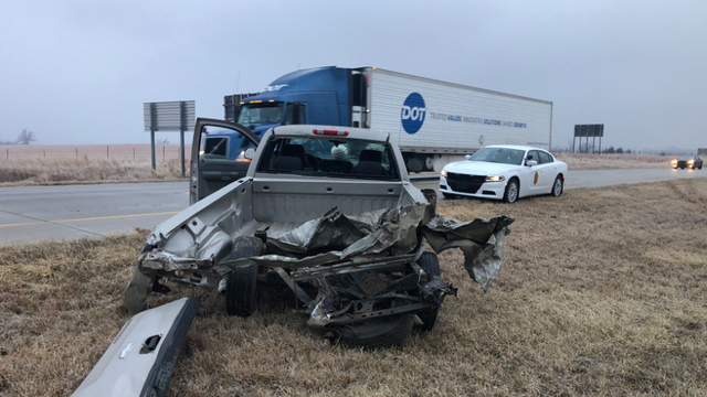 Trooper Ben asks Kansas drivers to slow down after multiple crashes on icy highways