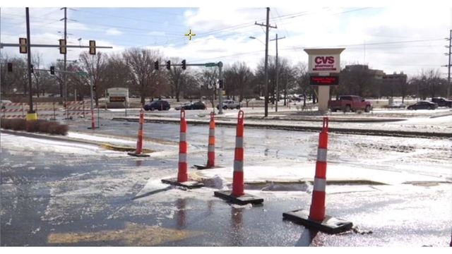 Temperatures taking toll on some Topeka water mains