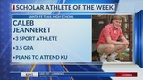 Scholar Athlete of the Week: Caleb Jeanneret
