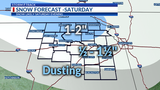 Cold night ahead, Round 2 of snow for the weekend