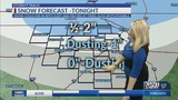 Wintry mix tonight&#x3b; more snow for early next week