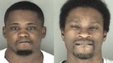 Police arrest two felons with guns on Saturday
