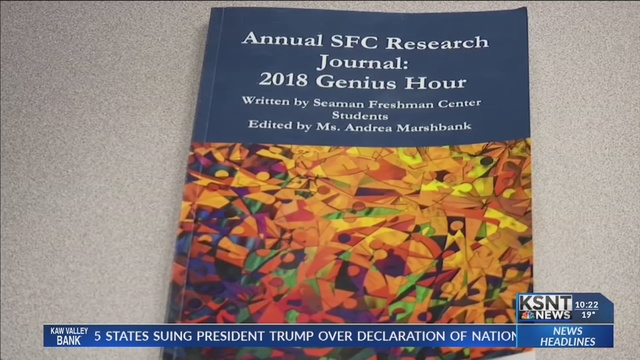 Local high school students publish work in research journal