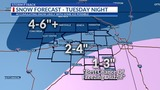 Snow and ice on the way: Here's how much to expect and when