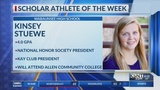 Scholar Athlete of the Week: Kinsey Stuewe